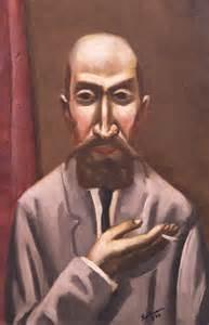 Max beckmann portrait of a turk bildnis eines t 252 rken 1926 olio su