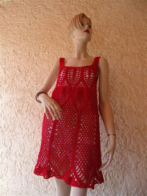 tejidos elegantes de crochet vestido corto tejido a crochet manualidades pinterest