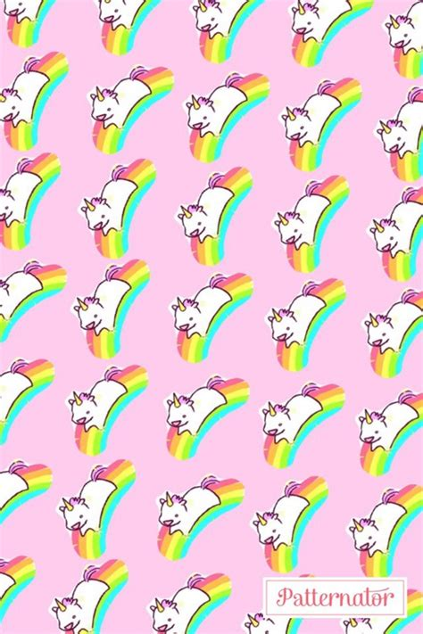 Rainbow Wall Sticker unicornios uploaded by sara cristel on we heart it