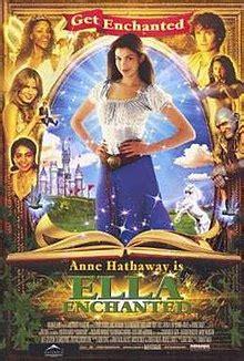 anne hathaway wikipedia the free encyclopedia ella enchanted film wikipedia