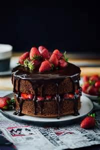 kuchen mit schokolade strawberry chocolate cake give recipe