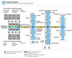 denver airport map us airways denver airport den maplets