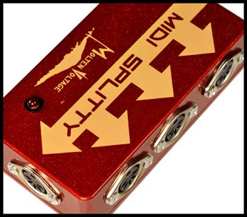 Splitter Repeater 4 Way By Ry045 midi splitty midi pedalboard splitter repeater