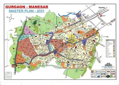 hmda layout download gurgaon sohna city map and master plan 2031