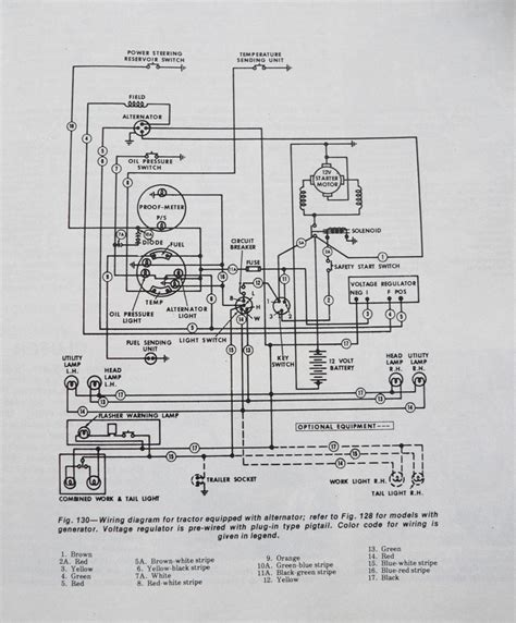ford 4600 wiring diagram light wiring diagram schemes