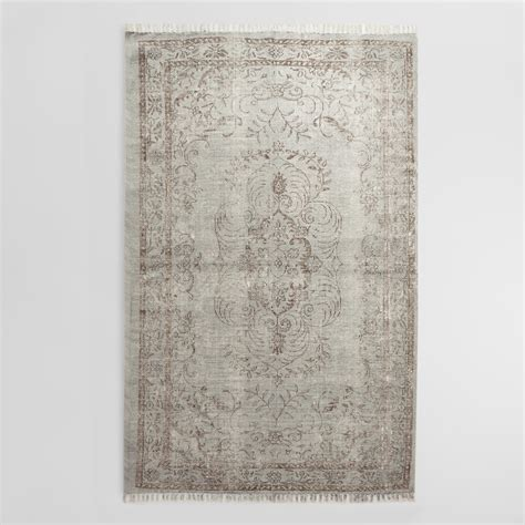 Woven Cotton Area Rugs with 5 X8 Gray Woven Cotton Area Rug World Market