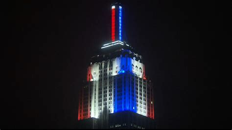 Cnn On Lit by Cnn Takes The Empire State Building For Election