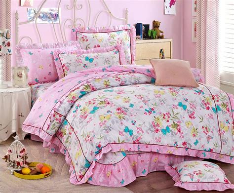 Flower Bed Sets Aliexpress Buy Home Textile Pastoral Flower Comforter Cover Sets
