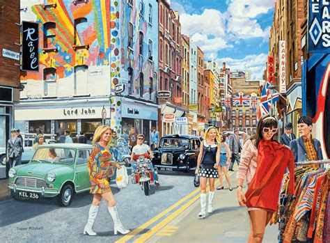 London Wall Mural carnaby street in the 60s wall mural amp carnaby street in