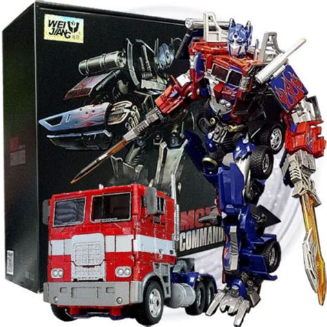 Decepticon Offroad Transformers Weijiang wei jiang transformers m01 evasion optimus prime 30cm height not mp 10