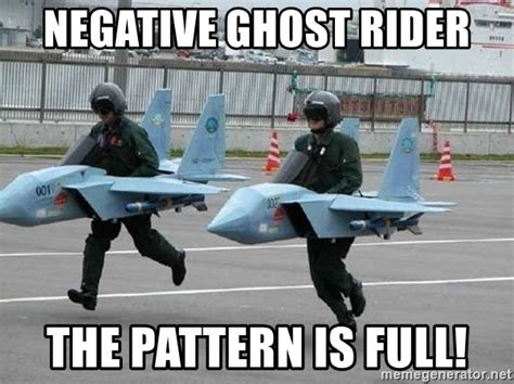 pattern is full ghostrider negative ghost rider the pattern is full north korean