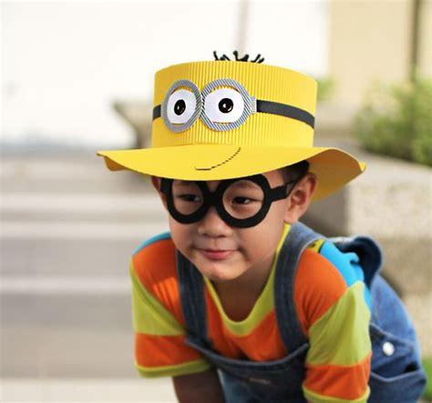 sombrero de minions sombrero de los minions de cart 243 n corrugado manualidades
