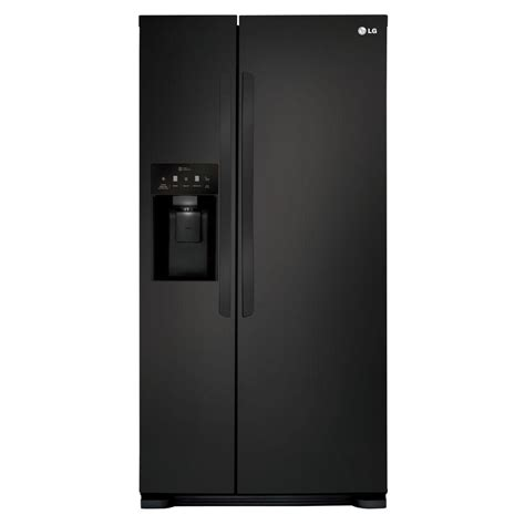 lg electronics 33 in w 22 cu ft side by side