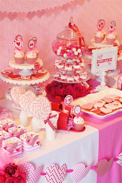 valentine s day table amanda s parties to go valentines party table ideas