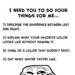 it is difficult to distinguish between colors at because can you do these 4 things pictures quotes memes