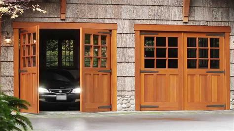 swing out doors swing out garage doors diy wageuzi