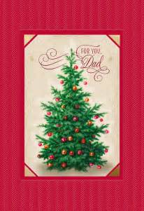 beautiful tree card for greeting cards hallmark