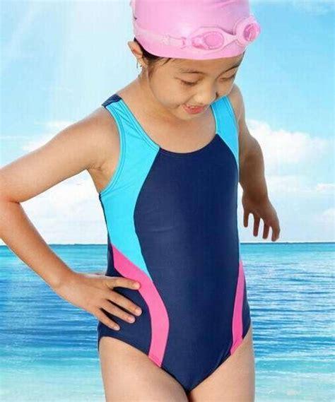 girls swim kids swimsuits roxy girls kids onepiece triangle sport swimsuit swimwear