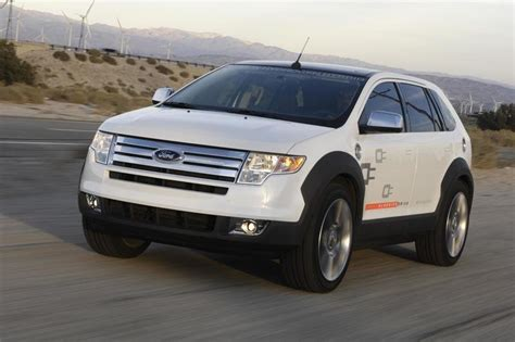 ford edge top speed 2007 ford edge hyseries in hybrid review top speed