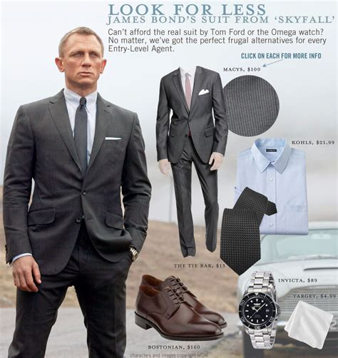Bond Wardrobe by Look For Less Bond S Suit From Skyfall Primer