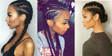 Black Cornrows Hairstyles by Best Black Hairstyles Hairdrome
