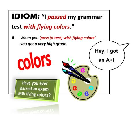 pass with flying colors idiom pass with flying colors all things topics