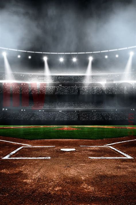 baseball card background template digital background baseball stadium digital sports
