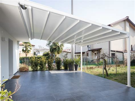 sliding awning with guide system a100 linear by ke outdoor