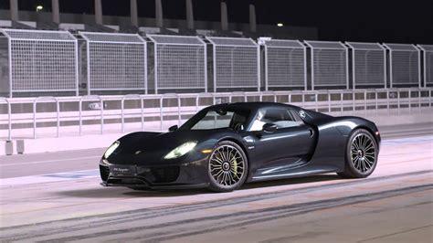 Porsche 918 Test by 2014 Porsche 918 Spyder Review Test Drive Youtube