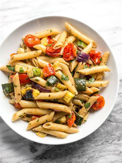 vegetables pasta grilled vegetable pasta salad recipes