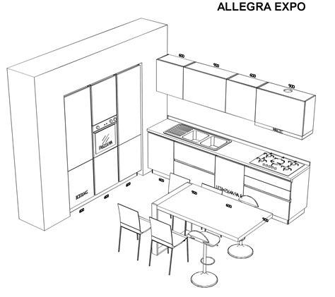 misure cucine moderne cucina stosa scontata 48 vicino a napoli cucine a