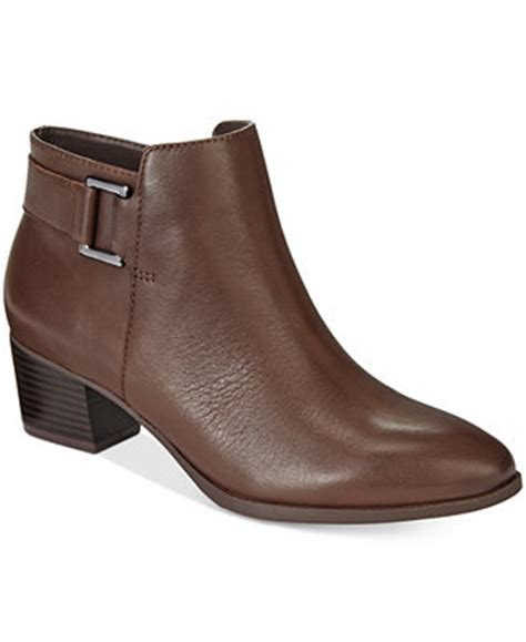 macys ankle boots alfani s adisonn ankle booties only at macy s