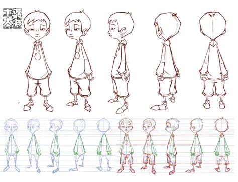 human vector tutorial xiaobao turnaround by wardyworks on deviantart