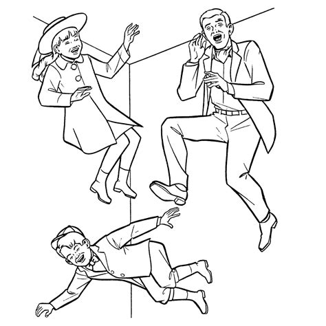 free coloring pages of paint mary poppins