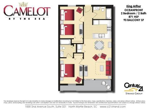 excalibur suite floor plan camelot by the sea floorplans