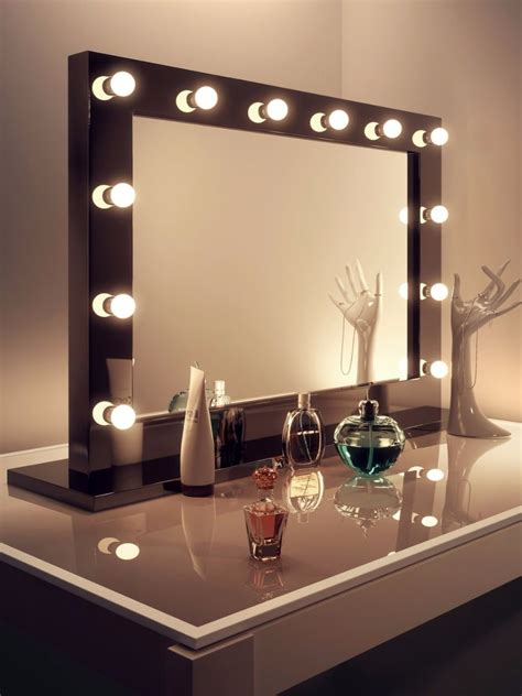 light mirror lucienne black high gloss mirror grand light mirrors