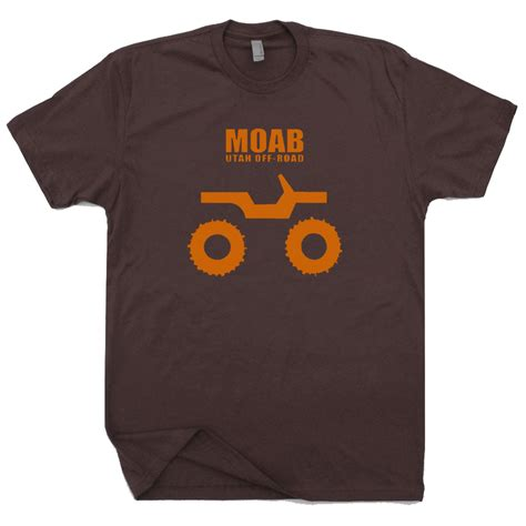 Jeep T Shirt moab utah jeep t shirt jeep 4x4 mudding shirts got mud