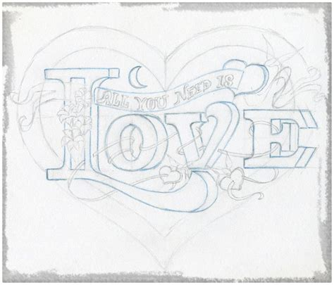 imagenes para dibujar con lapiz imagenes para dibujar a lapiz de corazones con alas