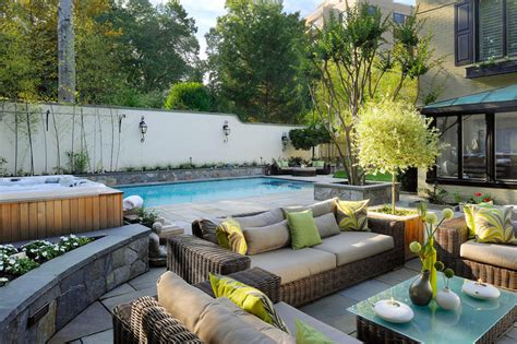 outdoor oasis outdoor oasis in nw washington mediterranean pool dc