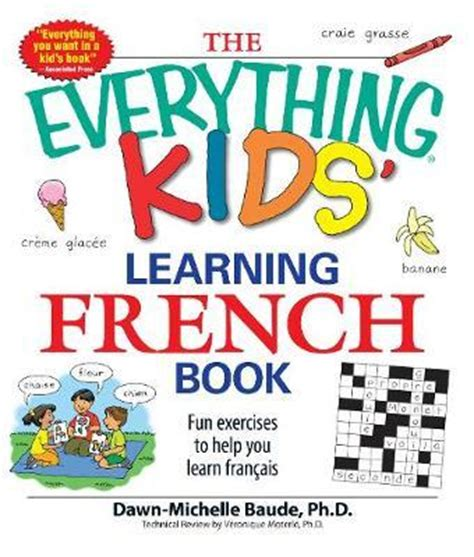 childrens french book my the quot everything quot kids learning french book dawn michelle baude 9781598695434