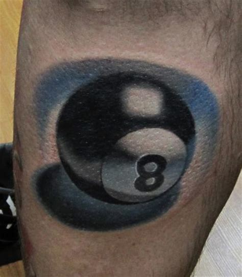 eight ball tattoo designs 8 tattoos and designs page 8