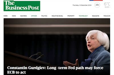 the path to long term true economics 15 12 16 long term fed path may force ecb