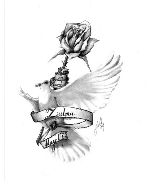 rest in peace cross tattoo designs rest in peace by tribul224 on deviantart