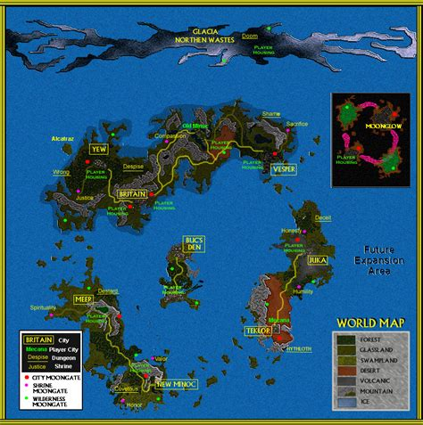 uo map uo stratics stories secrets conceptual atlas and cities of sosaria