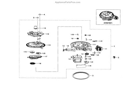 samsung dishwasher parts diagram parts for samsung dw80f800uws aa 0001 sump parts