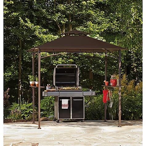grill gazebo with led lights bed bath beyond