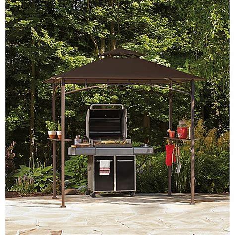 grill gazebo with led lights www bedbathandbeyond com