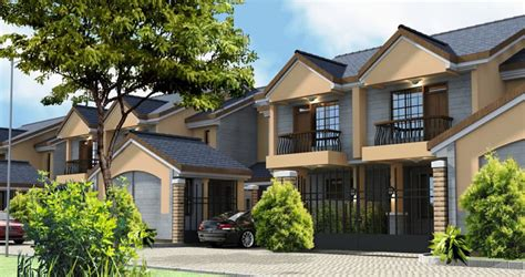 Houses With 2 Master Bedrooms shaba village 4 bedroom maisonettes