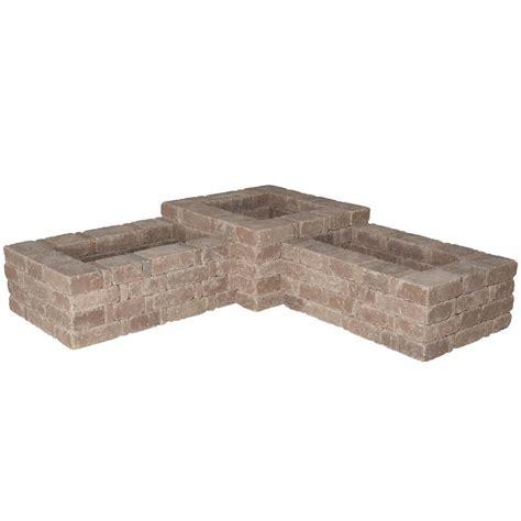 pavestone bench pavestone rumblestone 100 in x 24 5 in rumblestone bench