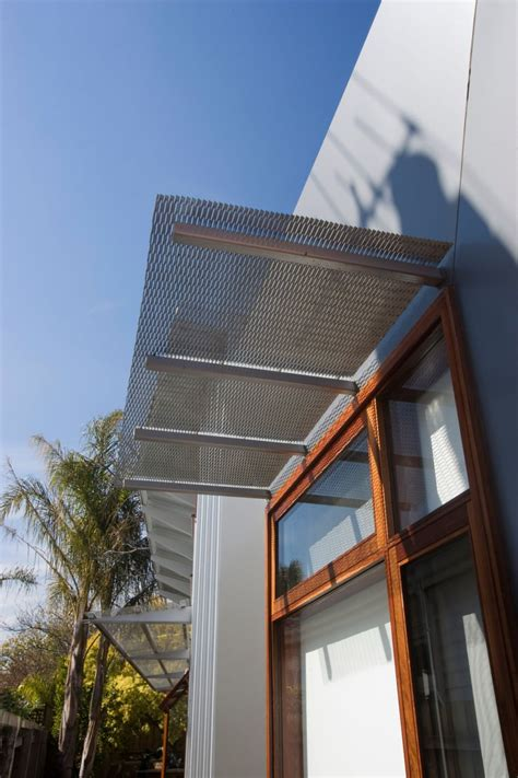 Architectural Awning by Orrong Road House Design By Breathe Architecture